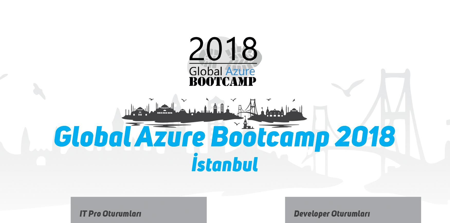 Global Azure Bootcamp 2018, Istanbul/Turkey
