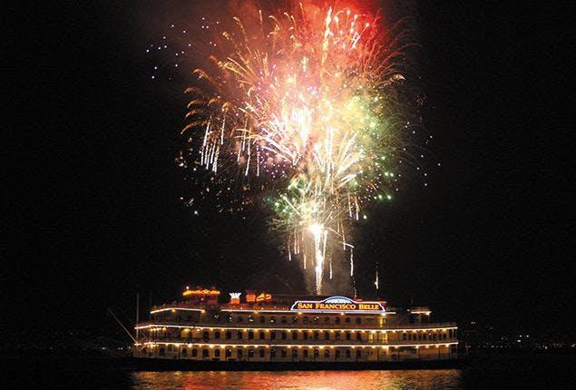 Fireworks Buffet Dinner Cruise San Francisco