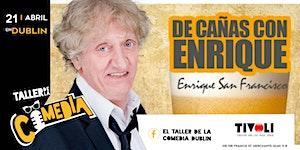 Enrique San Francisco en el Taller de la comedia Dublín