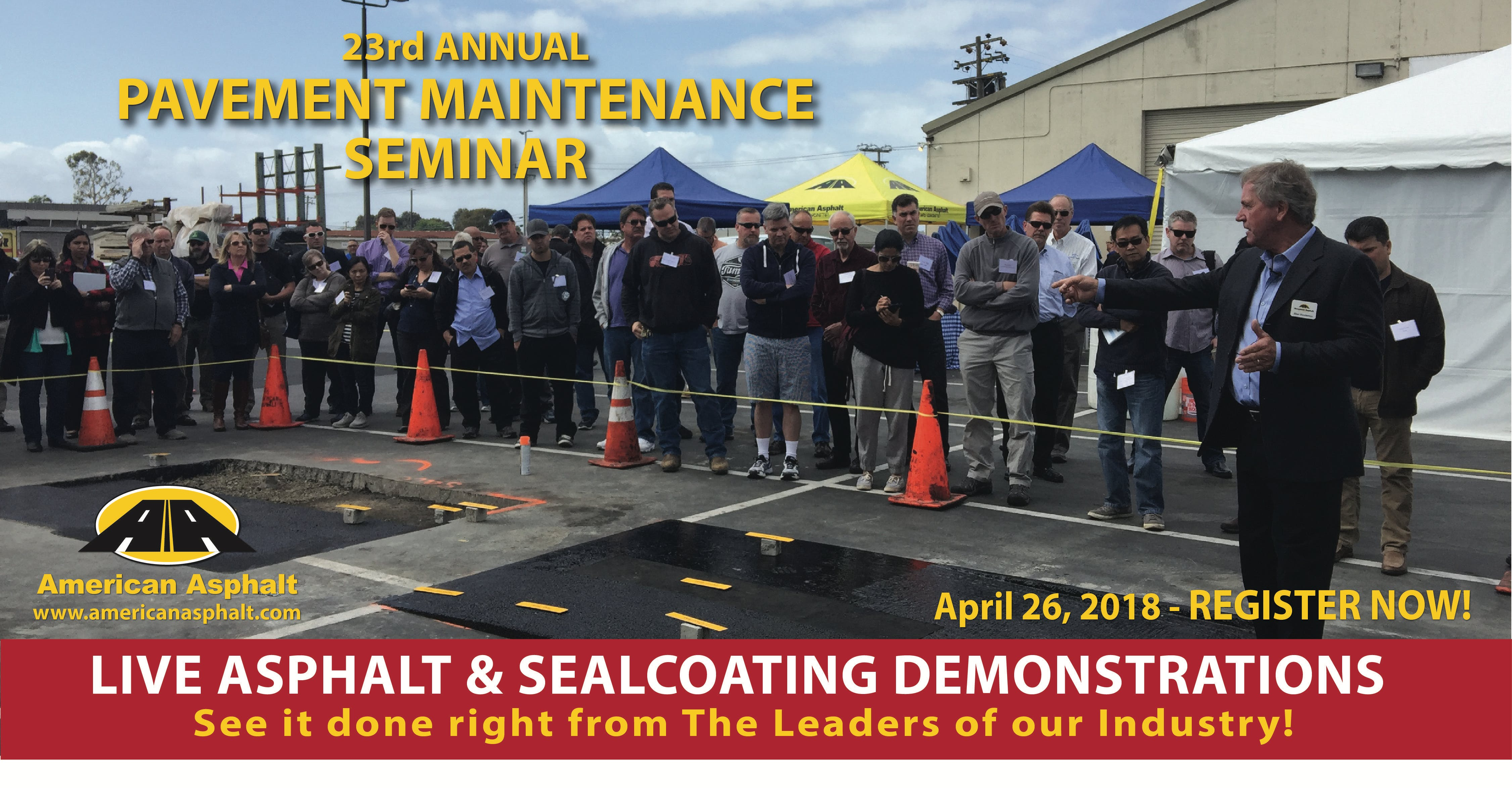 American Asphalt's 23rd Annual Pavement Maint