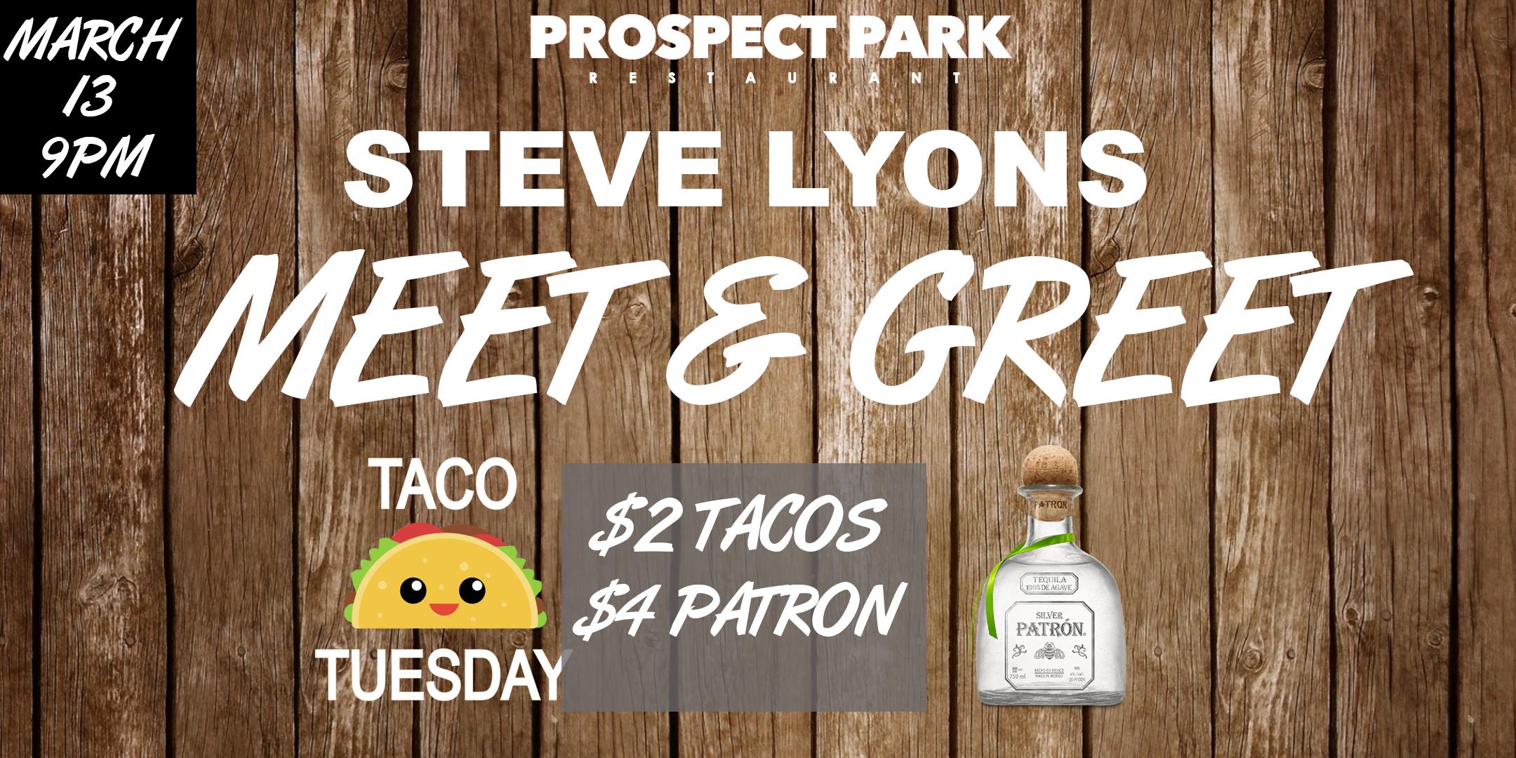 Steve lyons celebrity meet greet at prospect park 17 apr 2018 steve lyons celebrity meet greet at prospect park m4hsunfo