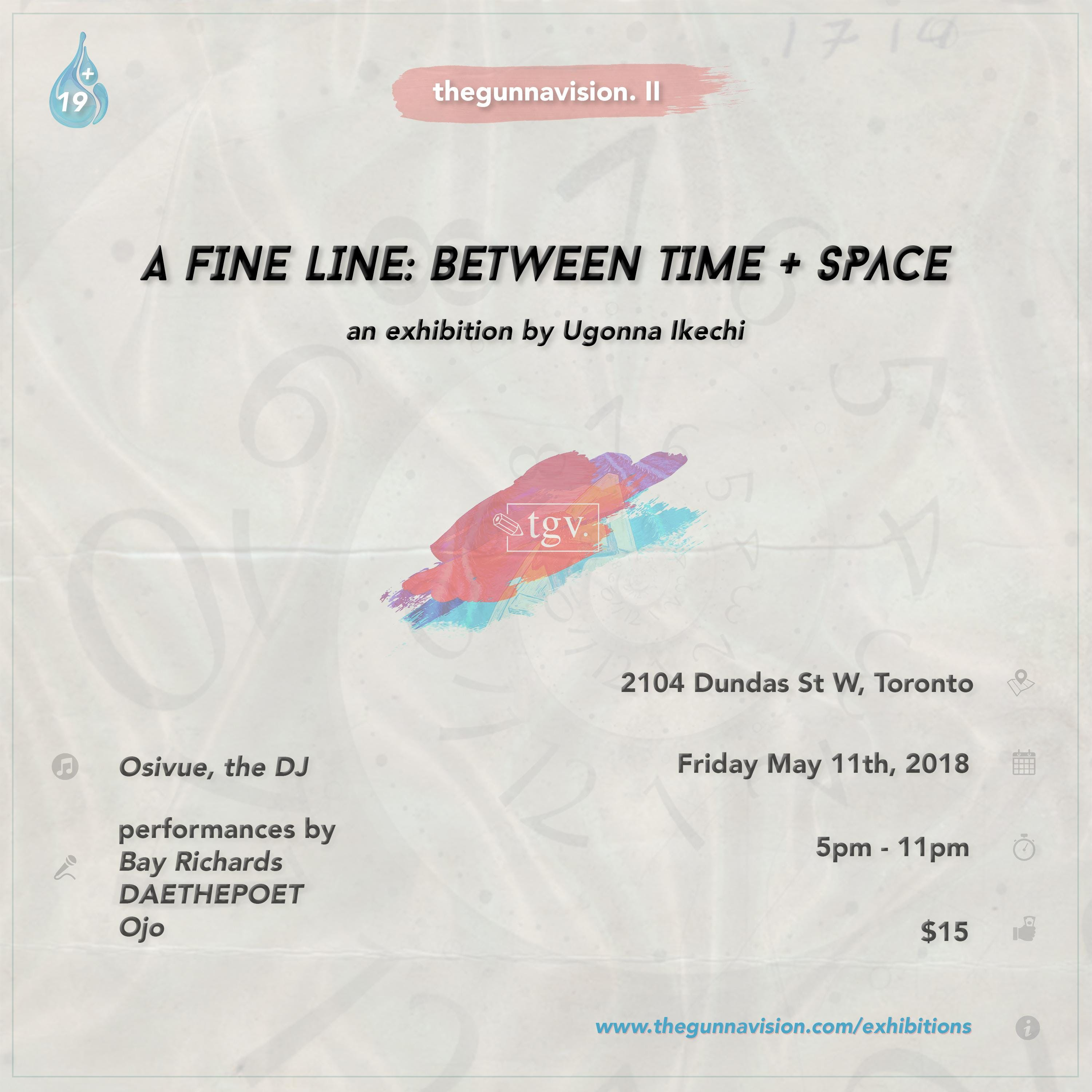 A FINE LINE: BETWEEN TIME + SPACE