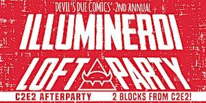 Illuminerdi Loft Party by Devil's Due Comics (C2E2...