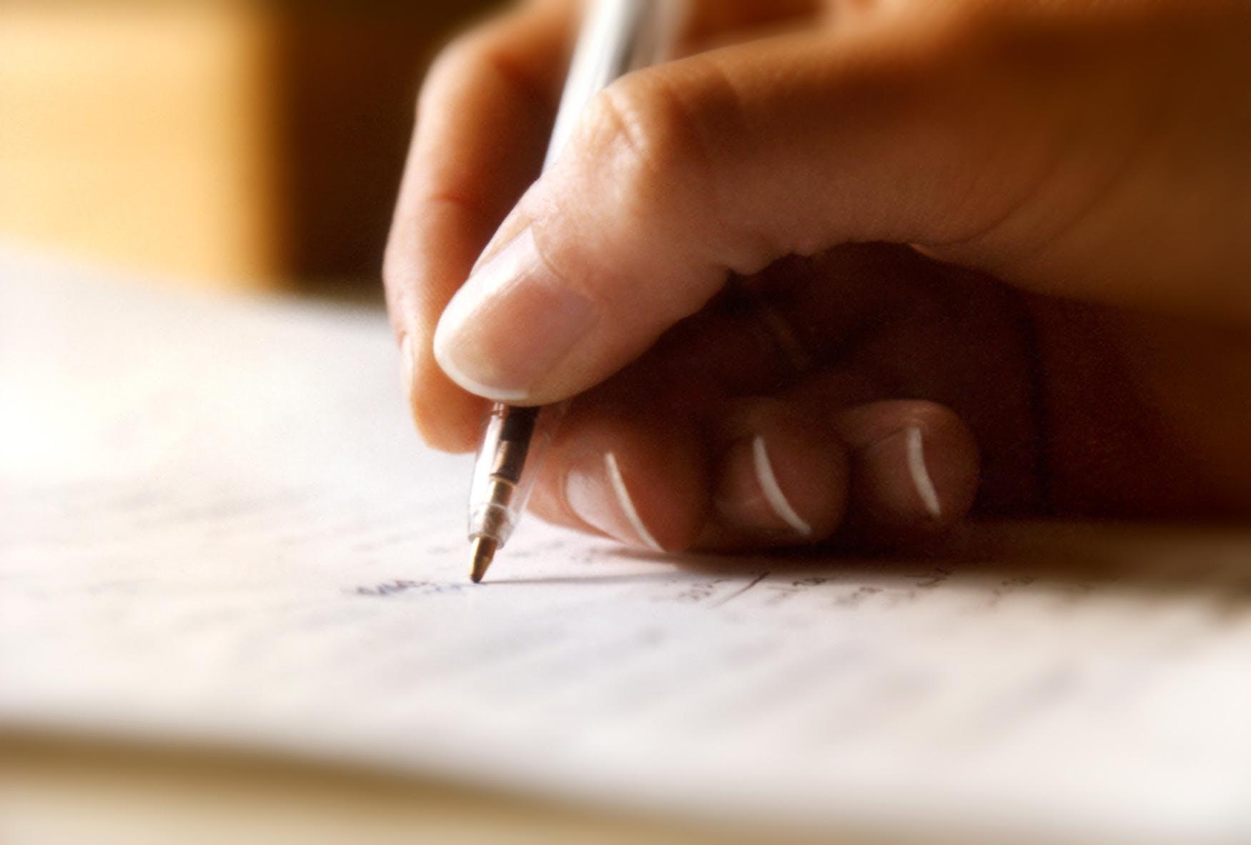 Write-In: New Writer Friends