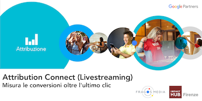Google Partners Attribution Connect - Livestreaming by Fragos Media