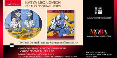 KATYA LEONOVICH exhibit at Tenri Gallery & Museum of Russian Art