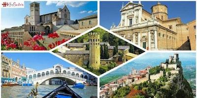 TOUR ROMAGNA, VENEZIA E SAN MARINO CON BUYSARDINIA