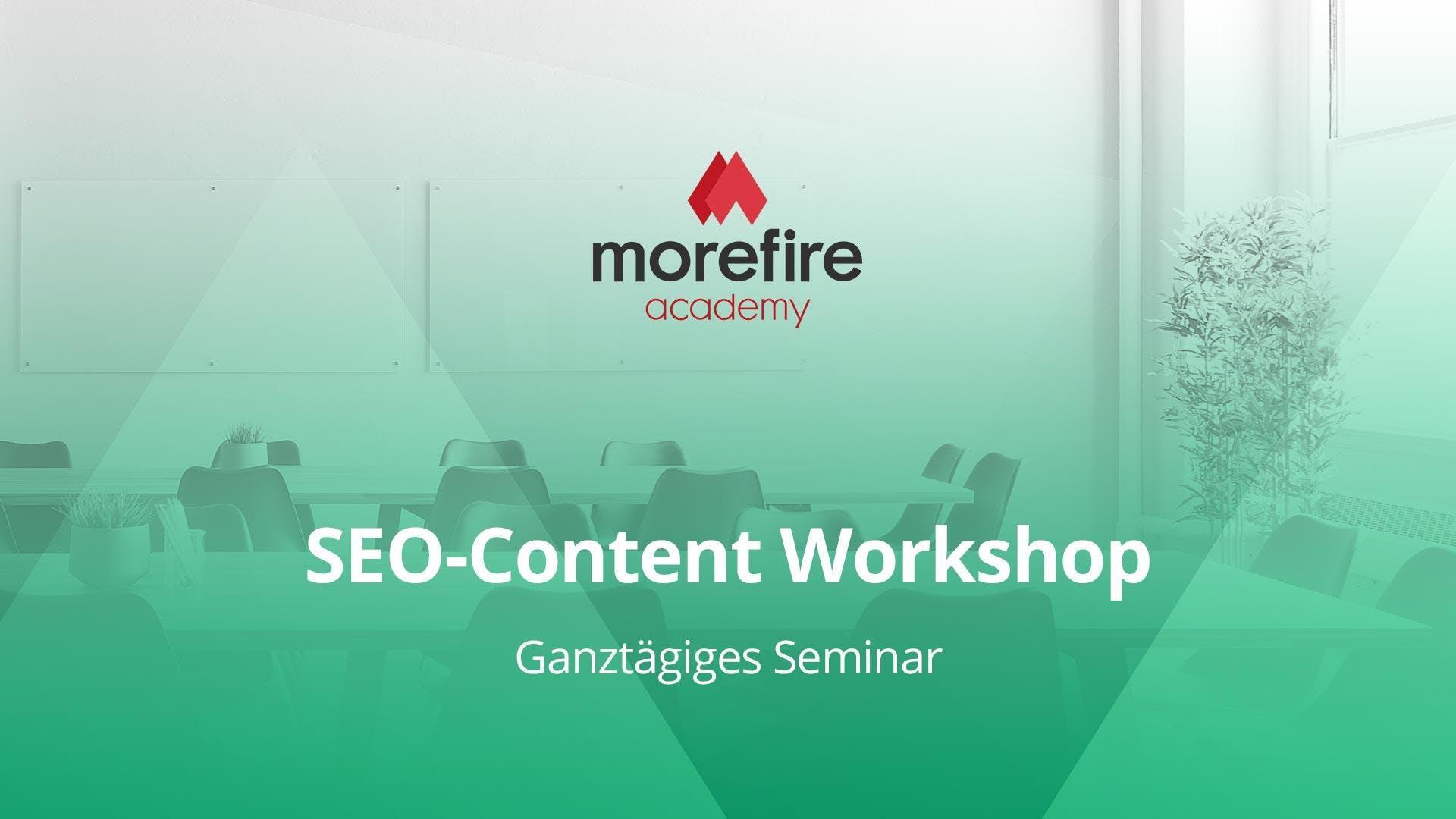 SEO-Content Workshop mit René Dhemant
