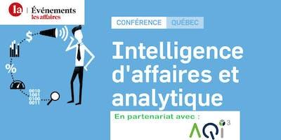 Conférence les Affaires : Intelligence d'affaires et analytique