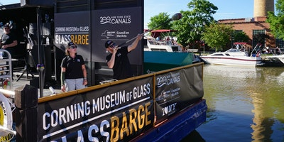 TEST GlassBarge in Yonkers - not a real event