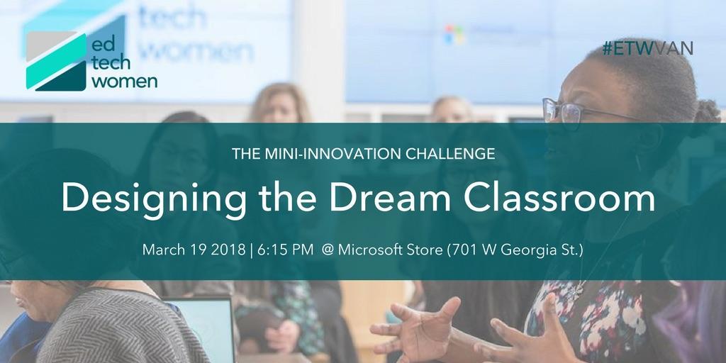 EdTechWomen VAN's Mini Innovation Challenge: