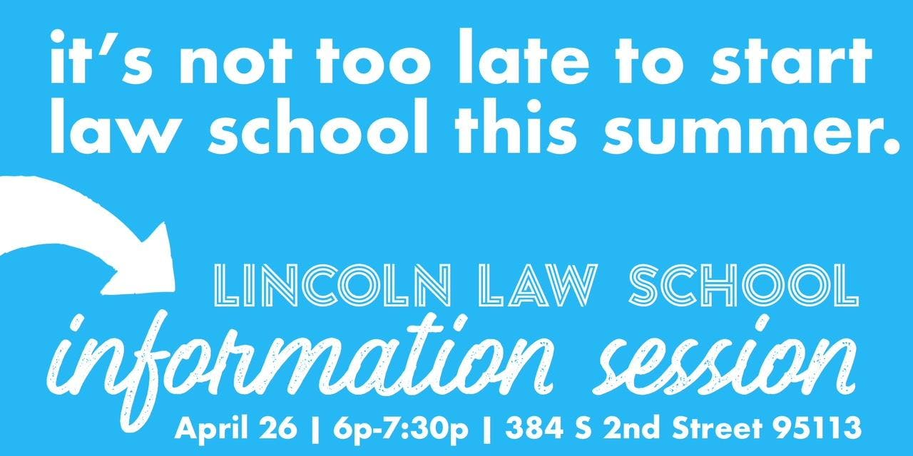 Lincoln Law School Information Session