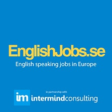 EnglishJobs.se in partnership with Intermind Consulting logo
