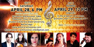 145th Sergei Rachmaninoff`s Anniversary Music Festival Concert Gala