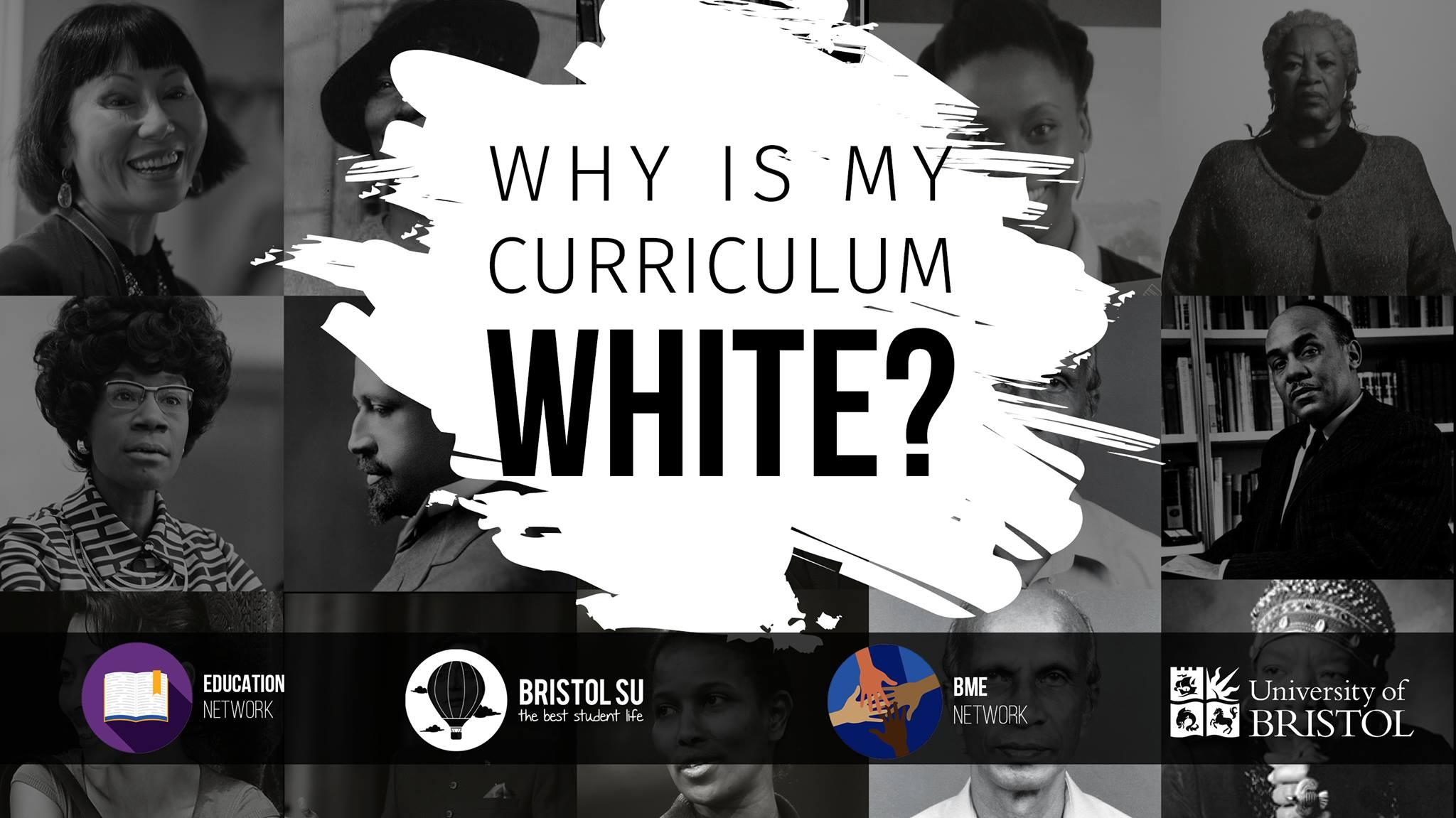 Why is My Curriculum White?