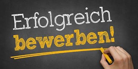 Bewerbungscoaching Infoveranstaltung Zwickau (Nachmittag) Tickets