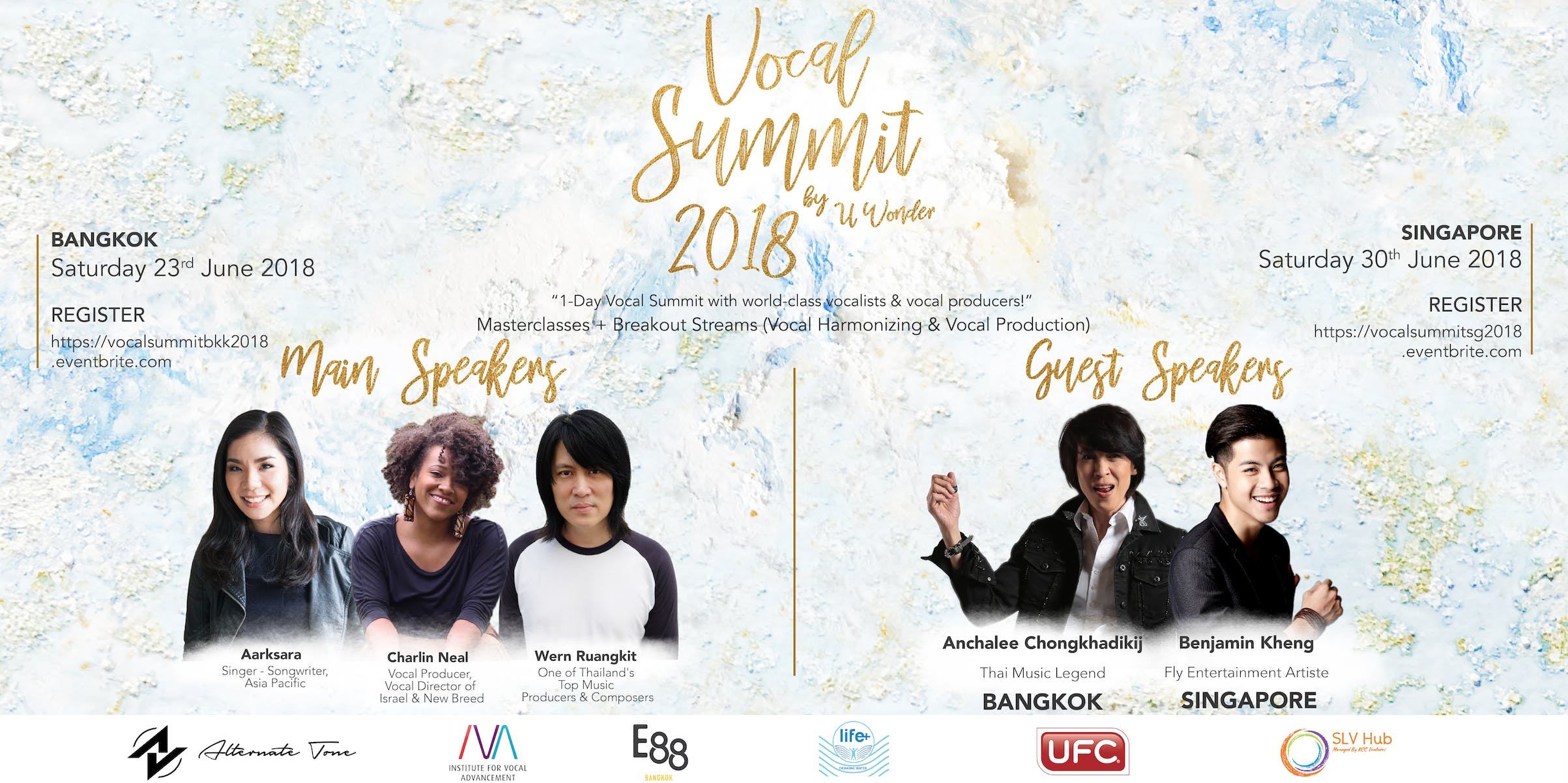 Vocal Summit 2018 (Singapore) by U Wonder