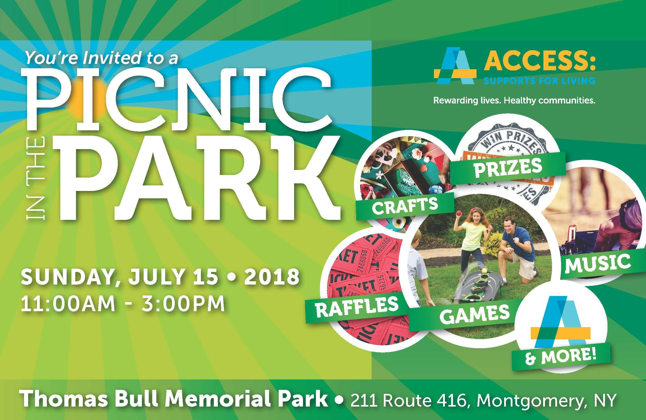 Picnic in the Park 2018