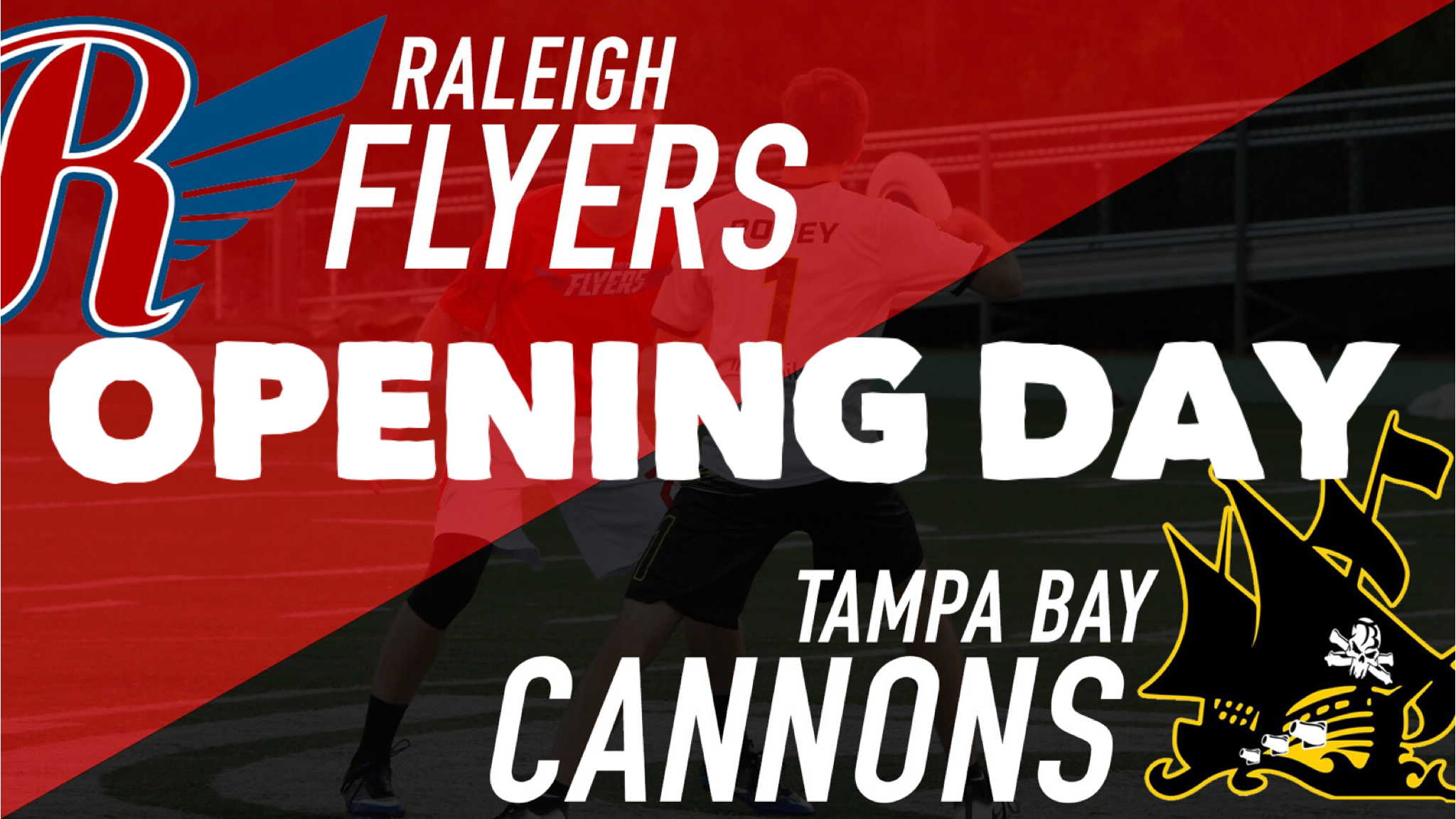 raleigh flyers v tampa bay cannons opening day 31 mar 2018