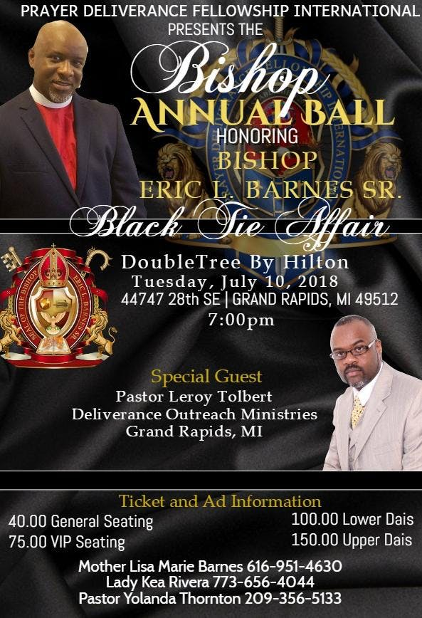 Bishops Annual Ball