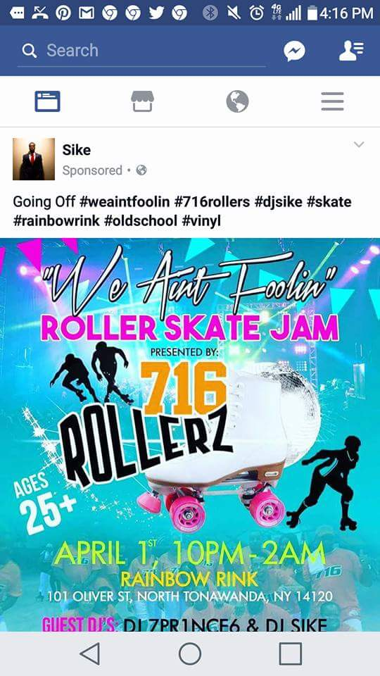 We Aint Foolin, 2nd Annual Old School Skate J
