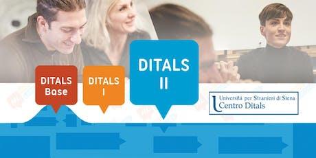 Corso di Preparazione DITALS II biglietti