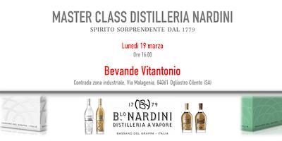 MASTER CLASS DISTILLERIA NARDINI