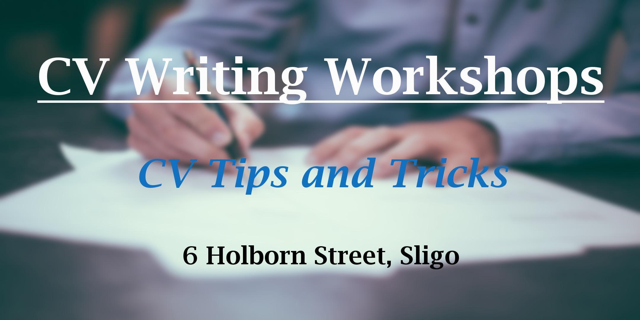 CV Writing Workshop