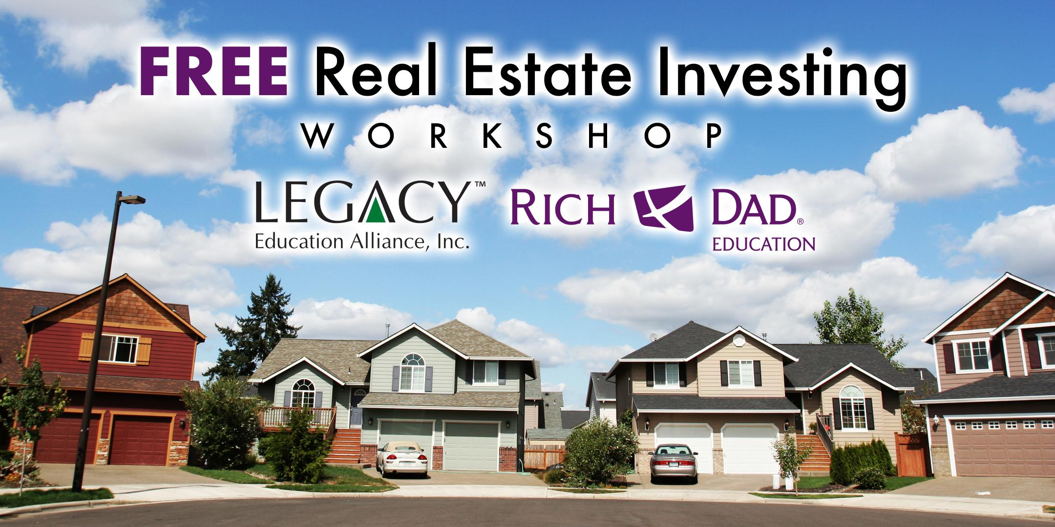 FREE Rich Dad Education Real Estate Workshop