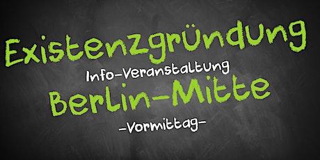 Existenzgründung Informationsveranstaltung Berlin Mitte Tickets