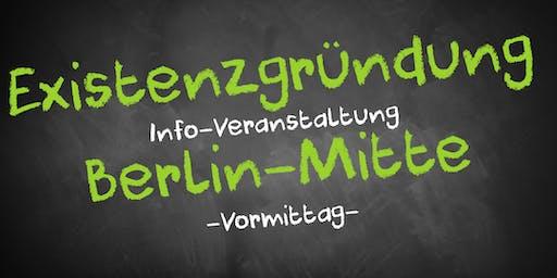 Existenzgründung Informationsveranstaltung Berlin Mitte