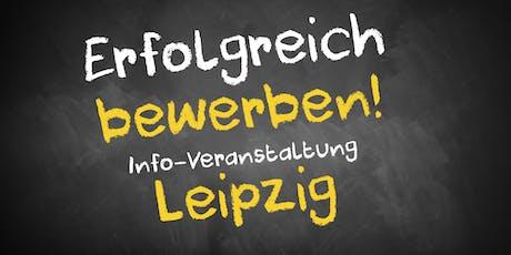 Bewerbungscoaching Infoveranstaltung Leipzig Tickets