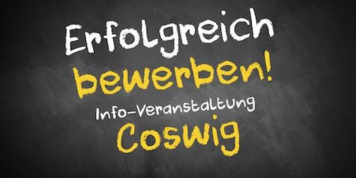 Bewerbungscoaching Infoveranstaltung Coswig