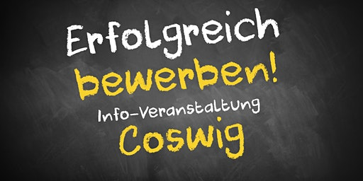Bewerbungscoaching Infoveranstaltung AVGS Coswig