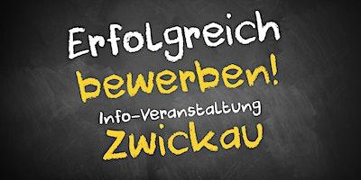Bewerbungscoaching Infoveranstaltung AVGS Zwickau