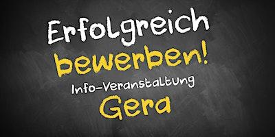 Bewerbungscoaching+Infoveranstaltung+Gera