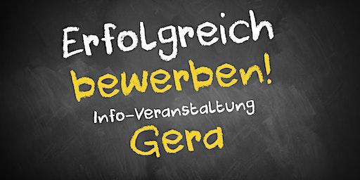 Bewerbungscoaching Infoveranstaltung AVGS Gera
