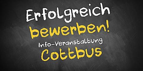 Bewerbungscoaching Infoveranstaltung AVGS Cottbus Tickets