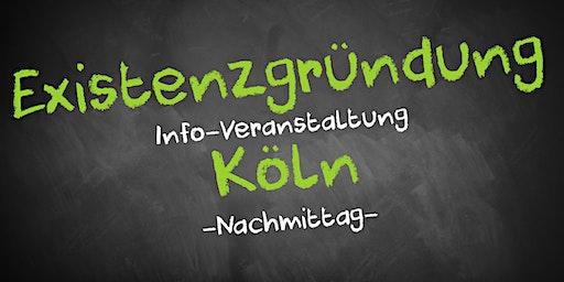 Existenzgründung Informationsveranstaltung Köln (Nachmittag)