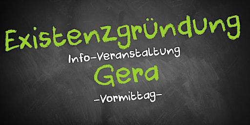 Existenzgründung Informationsveranstaltung Gera