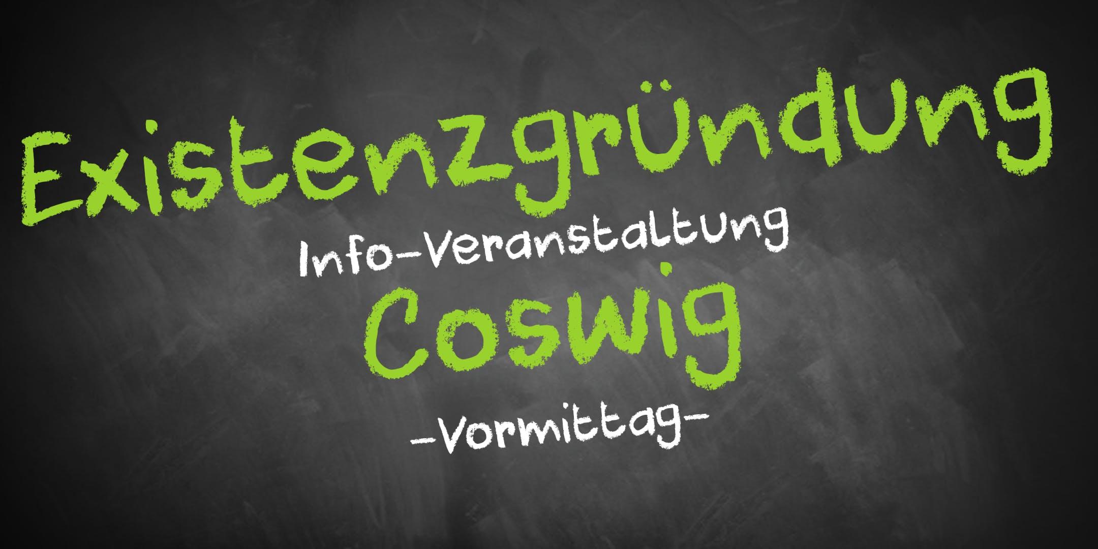 Existenzgründung Informationsveranstaltung Coswig