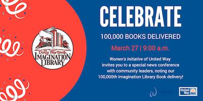 Imagination Library 100,000 Book Dedication