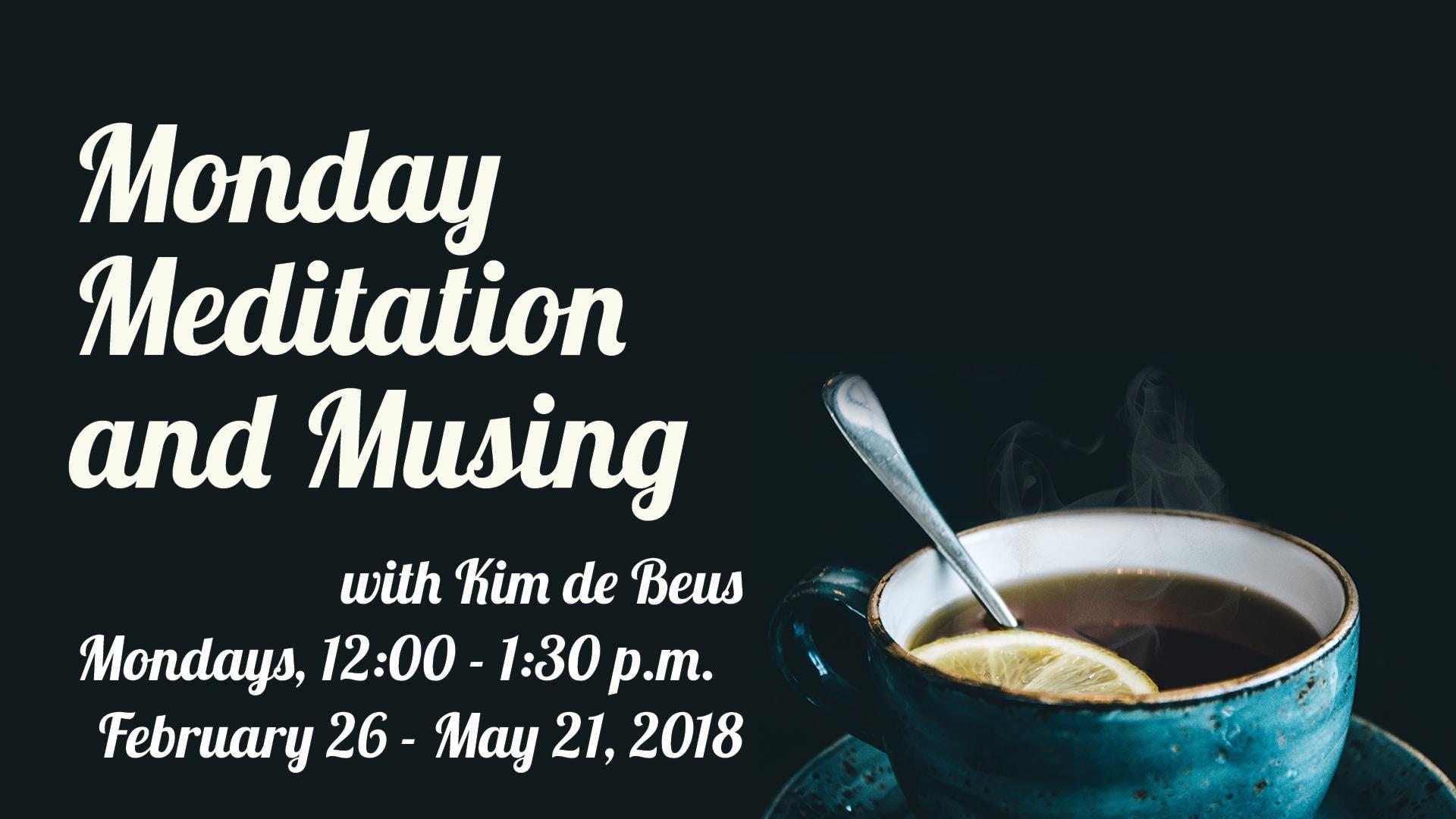 Meditation - Mondays with Kim de Beus