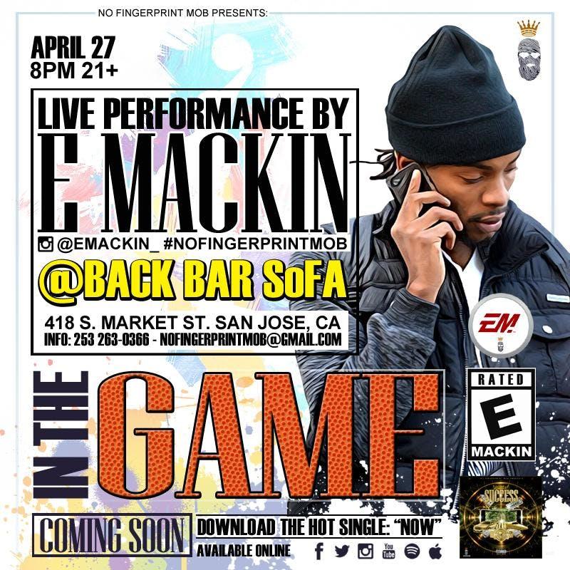 E Mackin & LoveRance Live @BackBarSoFa