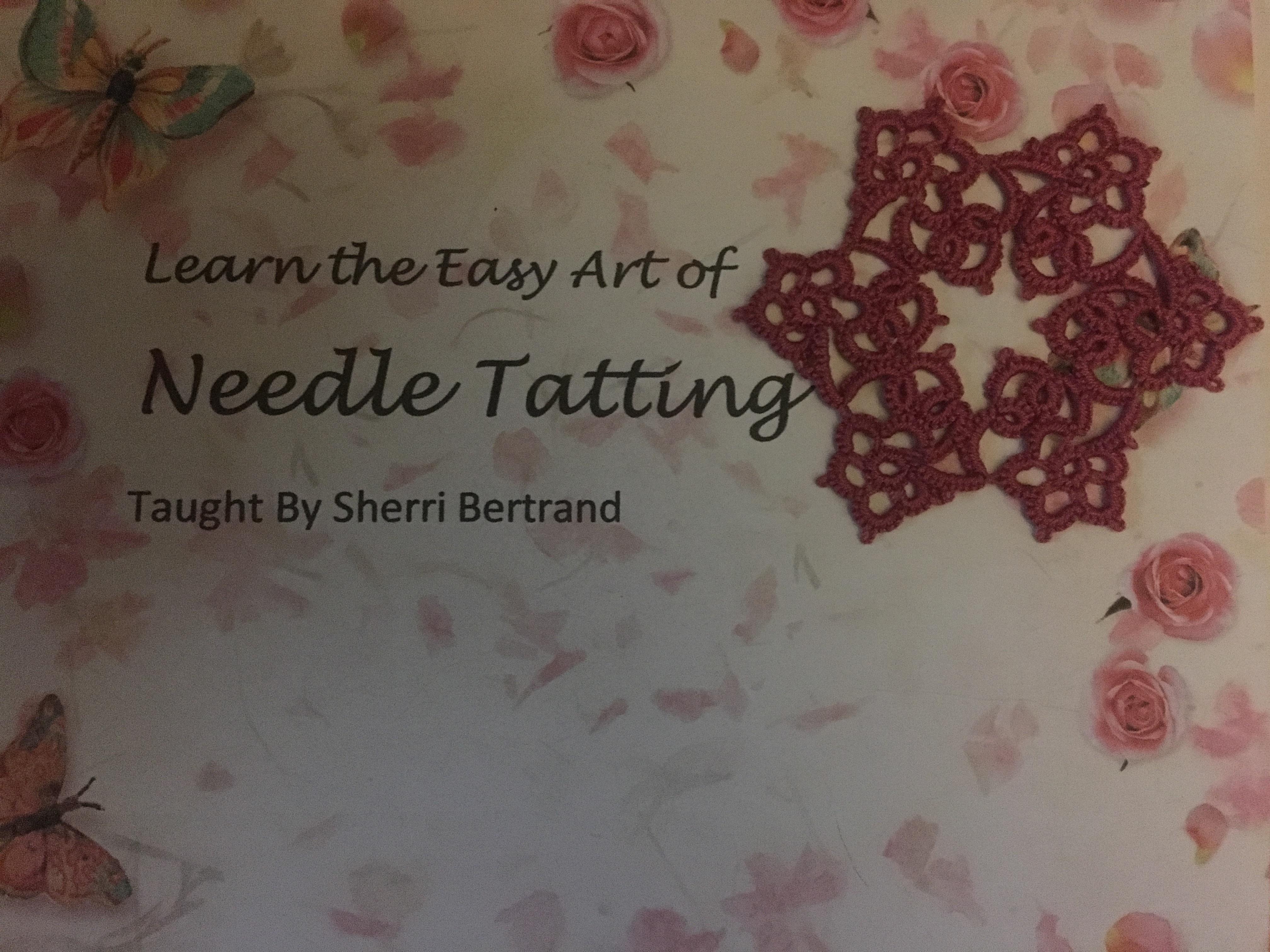 Learn the Art of Needle Tatting photo