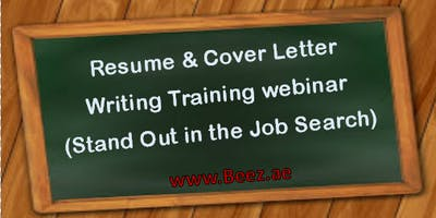 Belfast Resume & Cover Letter Writing Training webinar (Stand Out in the Job Search)
