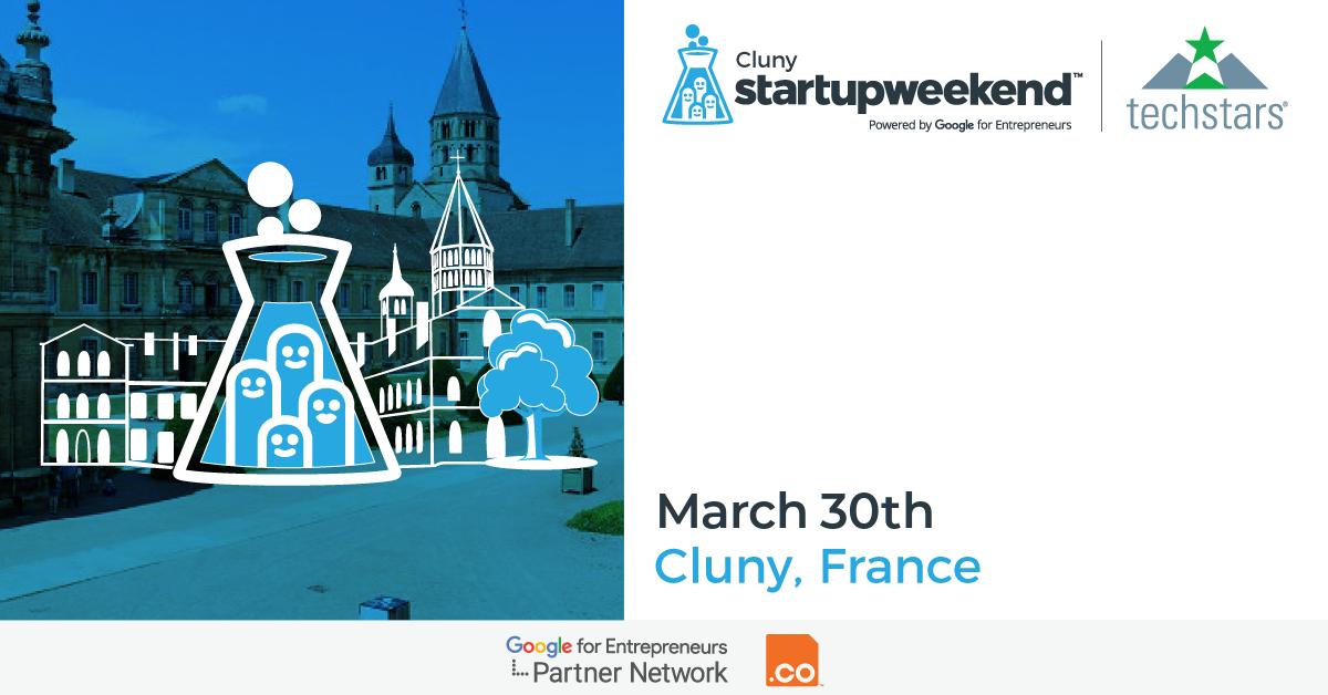 Techstars Startup Weekend Cluny Mars 2018