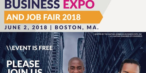 Second Annual Haitian American Business Expo and Job Fair (June 2, 2018)
