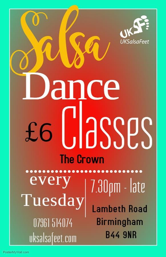 Beginner Salsa Classes Kingstanding Birmingha