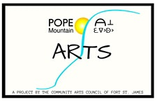 Pope Mountain Arts - The Community Arts Council of Fort St. James  logo